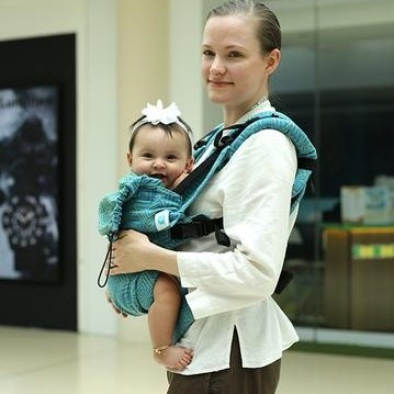 e5091a6b059 Baby Carrier. Best Adjustable Baby Carrier. Soul Slings AseemA
