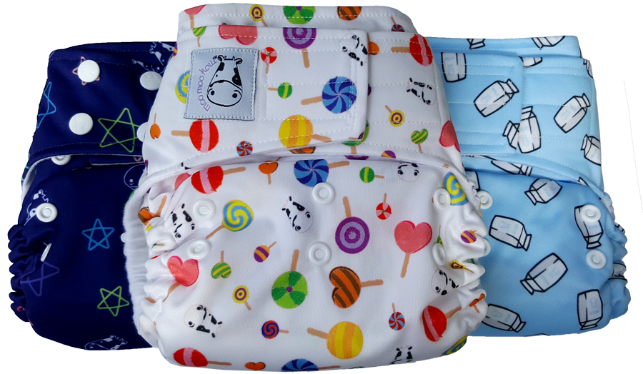 Moo Moo Kow One-Size Cloth Diaper