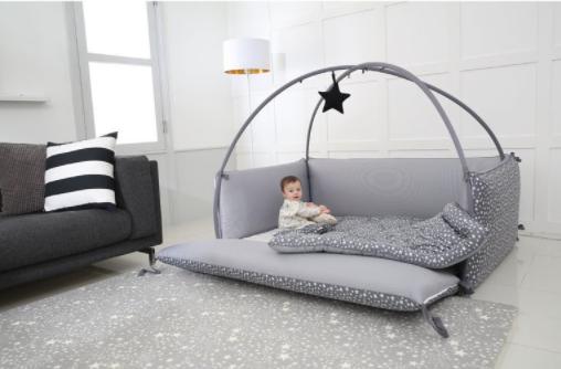 microfiber bumper bed