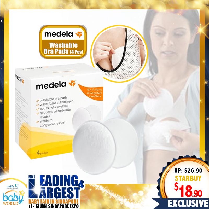 Medela Washable Bra Pads (4pcs)