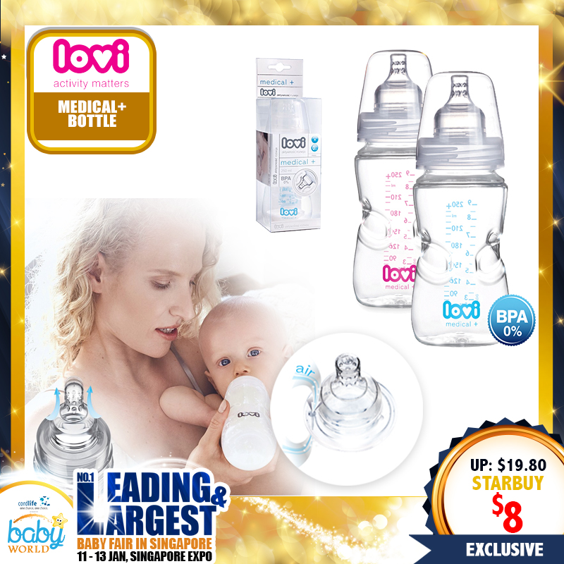 Lovi Medical + Bottle (150ml / 250ml) - UP TO 60 PERCENT OFF