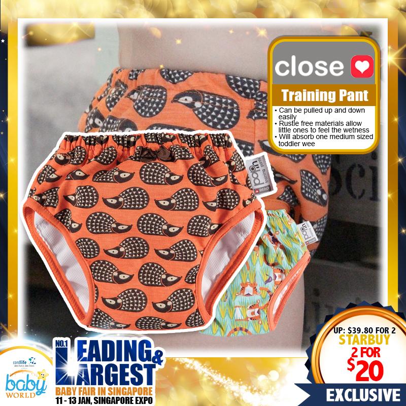 Close Parents Training Pants Bundle of 2