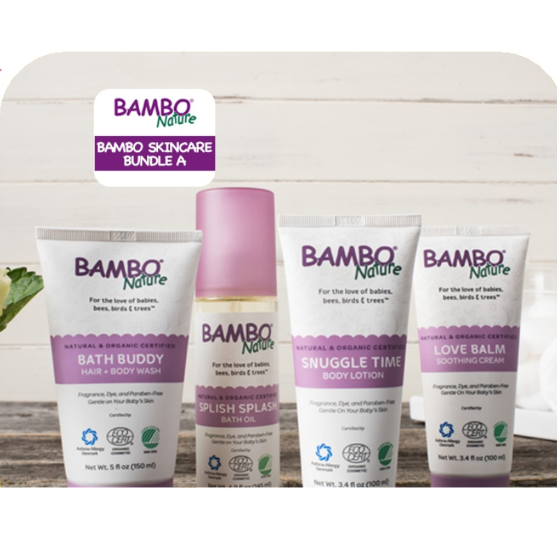 Bambo Nature Baby Skincare Bundle Deal