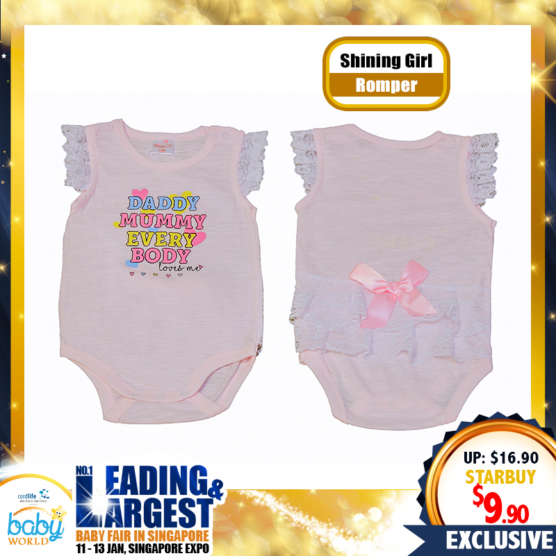 NEWLY LAUNCHED Shining Girl Romper