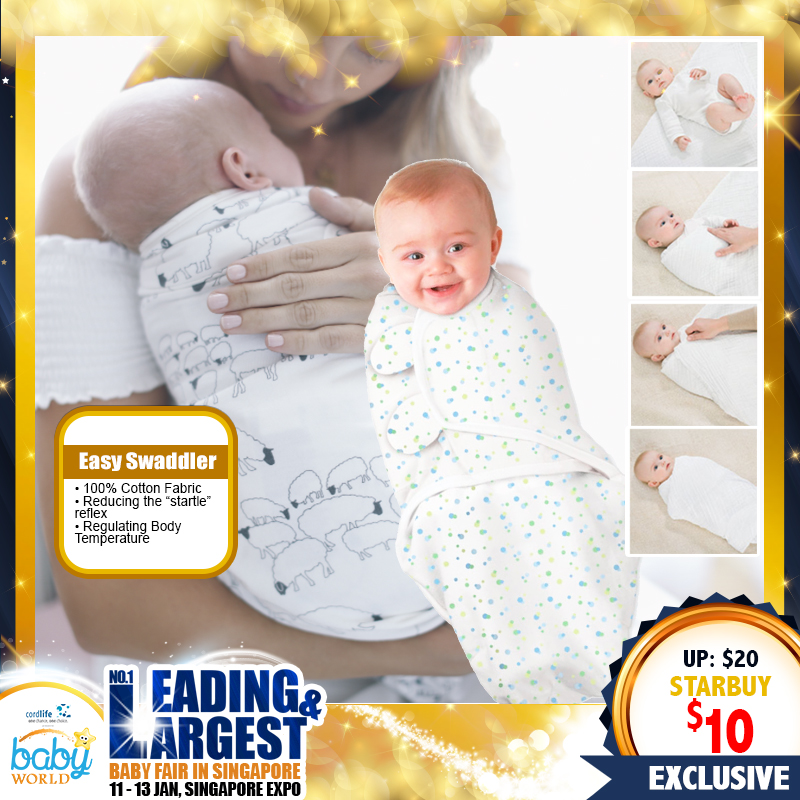 Mummykidz Easy Swaddler (50 Percent OFF!)