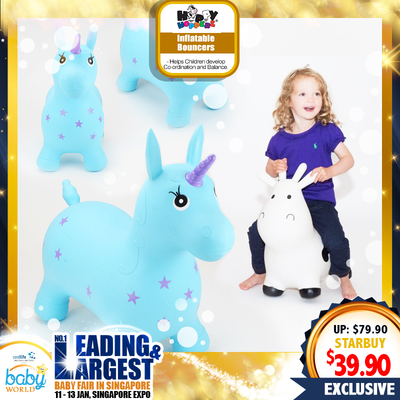 Happy Hopperz Inflatable Bouncing Toy (50 Percent OFF!!)