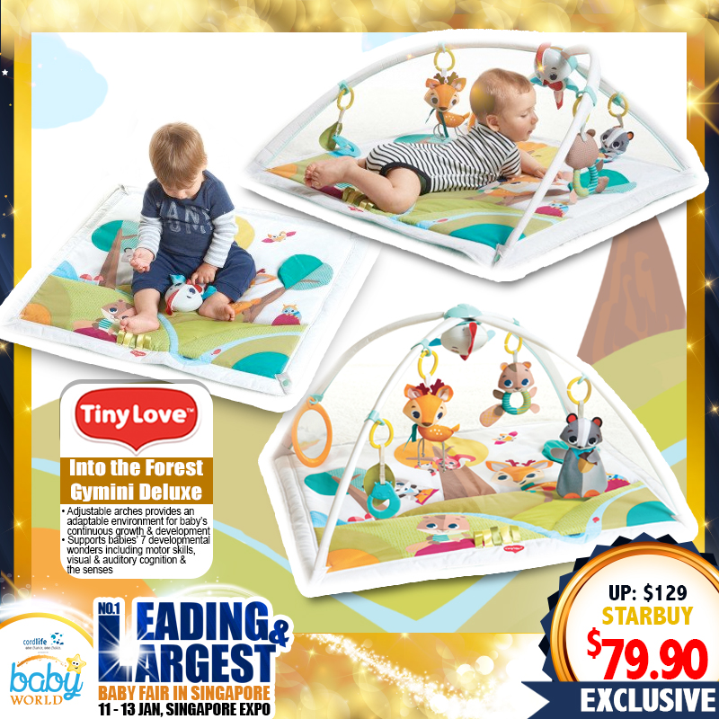 TinyLove Into The Forest Gymini Deluxe Playmat