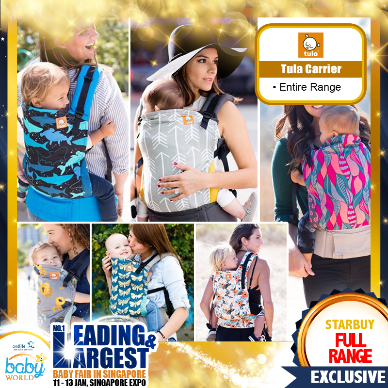 Tula Baby Carrier Full Range!!
