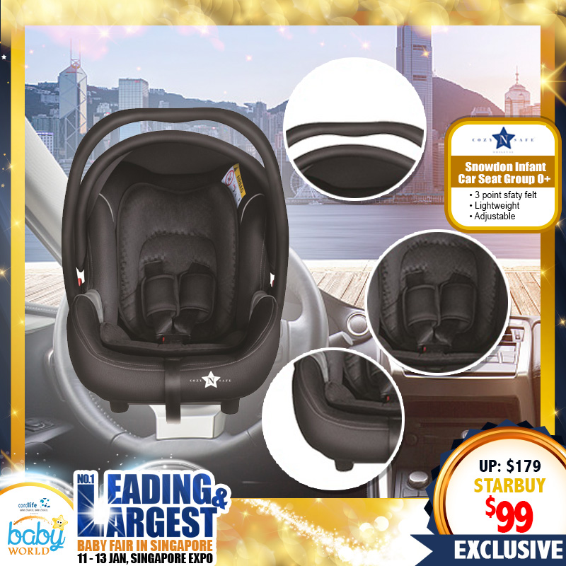 Cozy & Safe Snowdon Infant Carseat Group O+