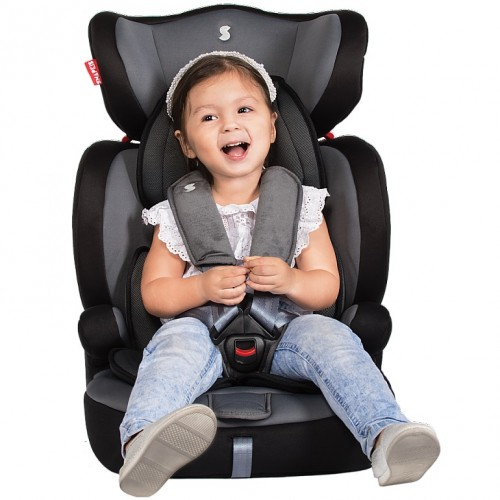 SNAPKIS Steps 1-11 Carseat (Red Melange/Grey OR Grey Melange/Black)