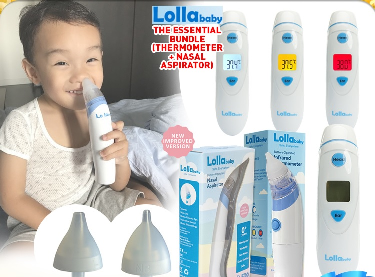 Lollababy Battery Operated Infarred Thermometer (Dual Mode)