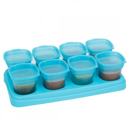 EASY Breastmilk & Baby Food Storage Cups (2oz/4oz)