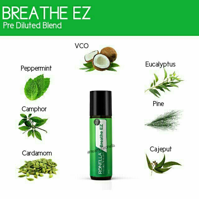 RONELLA Breathe EZ Essential oil (*MORE DISCOUNT for EARLY BIRD SPECIAL!!!)