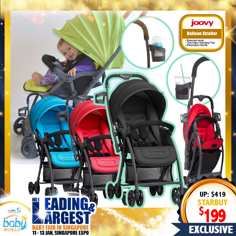 Joovy Balloon Stroller (53 Percent OFF) - (Only $189 with