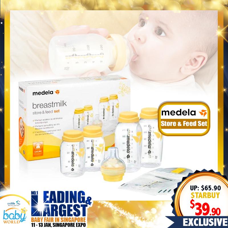 Medela Breastmilk Store and Feed Bottle Set