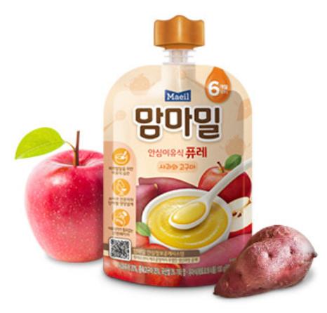 Maeil Baby Food From Korea Mam'ma Meal (Puree / Porridge)