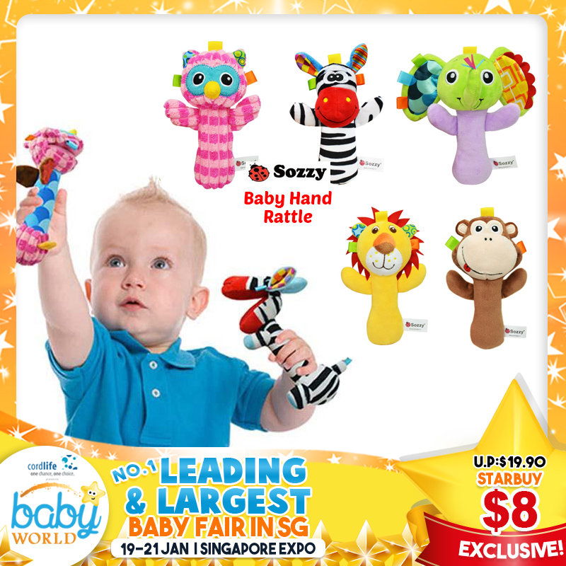 Sozzy Baby Hand Rattles