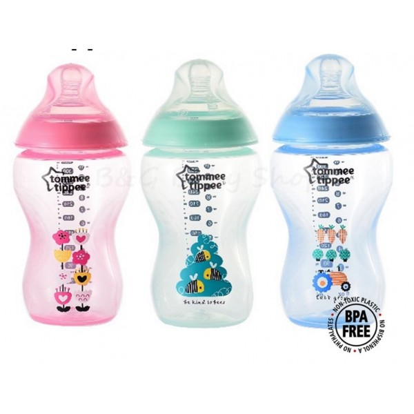 BOTTLE SEEDING PROMO!! Tommee Tippee Closer to Nature BPA FREE Tinted Bottle 340ml/120Z (Available in 3 Colors)