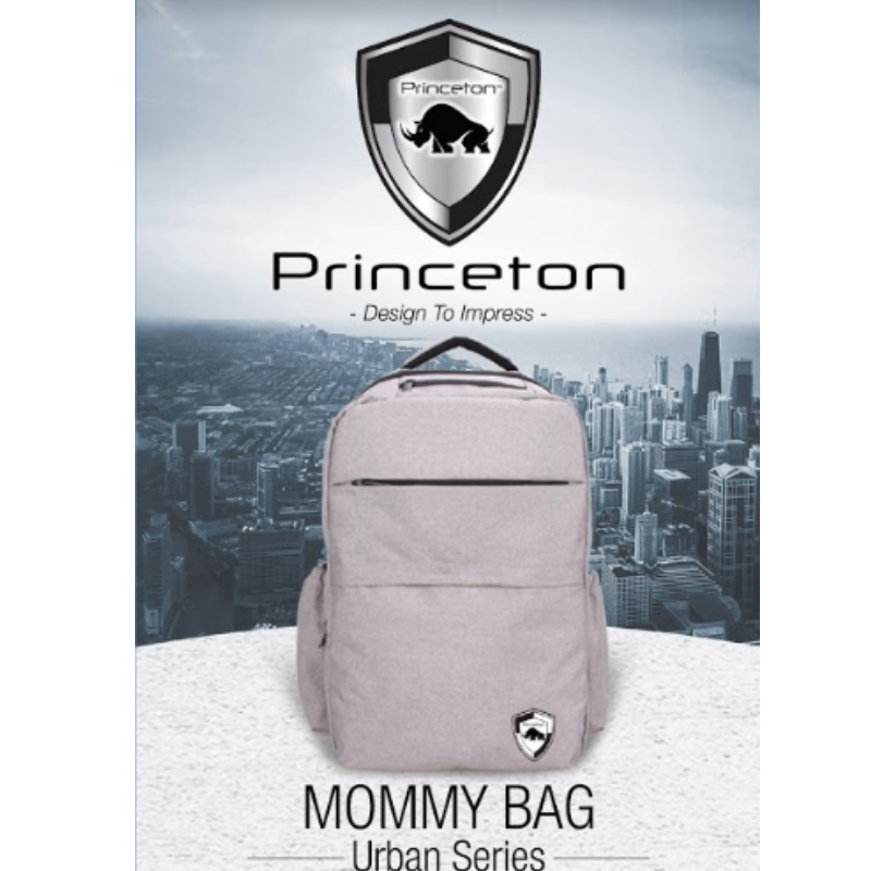 PRINCETON Urban Series Fashion Diaper Bag (50 PERCENT OFF)