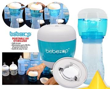 BebeZap Portable UV Sterilizer (Extra DISCOUNT For EARLY BIRD SPECIAL*)