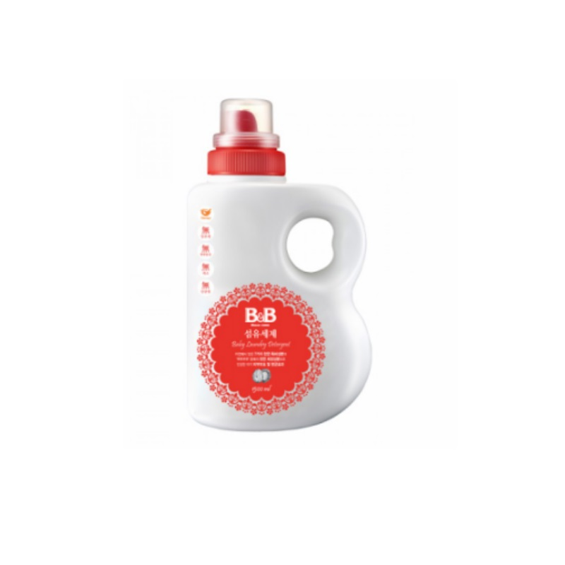 B&B Fabric Detergent (1 FOR 1) Bottle 1500ml/ Cap Refill 1300ml