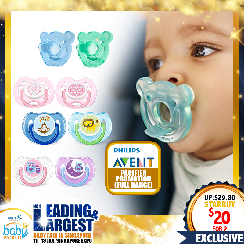 Philips Avent Pacifier (Any 2 for $20!!)