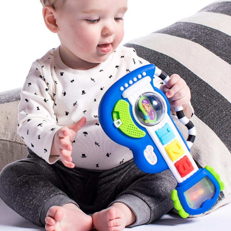 Baby Einstein Rock, Light & Roll Guitar Musical Toy