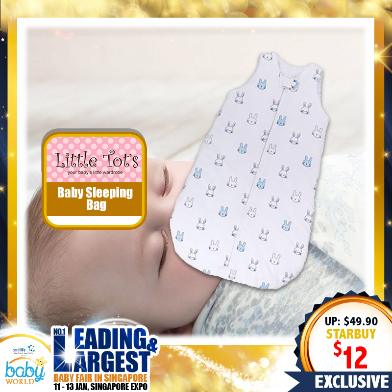Little Tots Baby Sleeping Bag (80 PERCENT OFF NOW!!!)