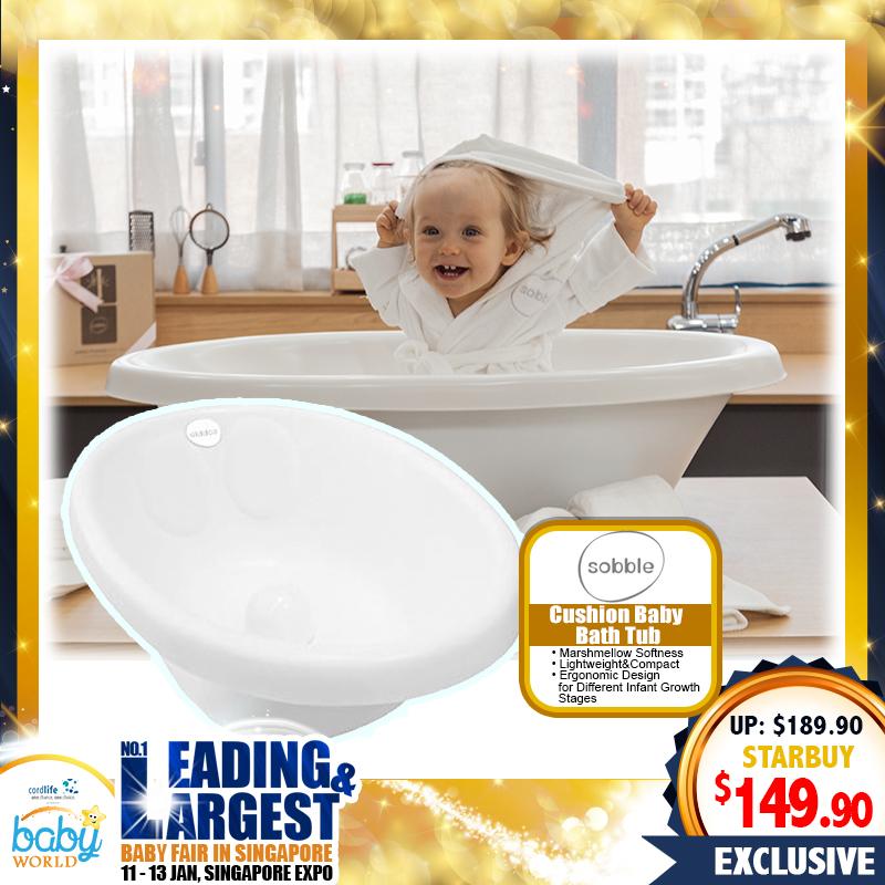 Sobble Cushion Baby Bath Tub