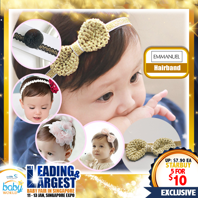 EM Hairbands Bundle of 5 (75 Percent OFF!!)