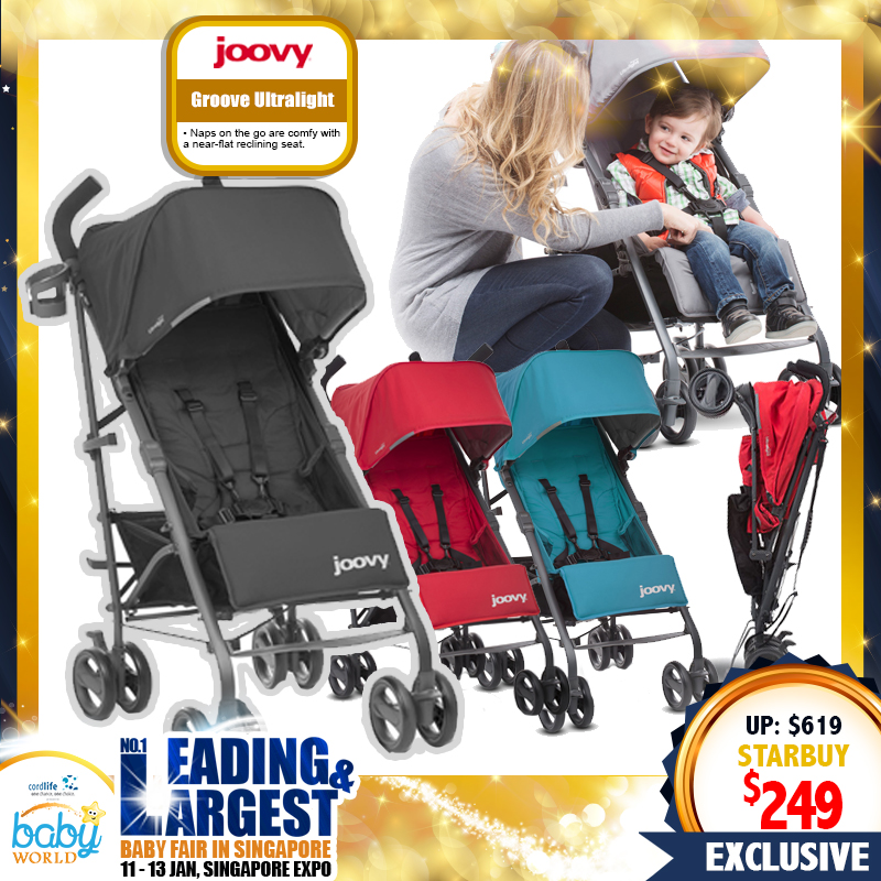 Joovy Single Groove Ultralight Stroller (60 Percent OFF)