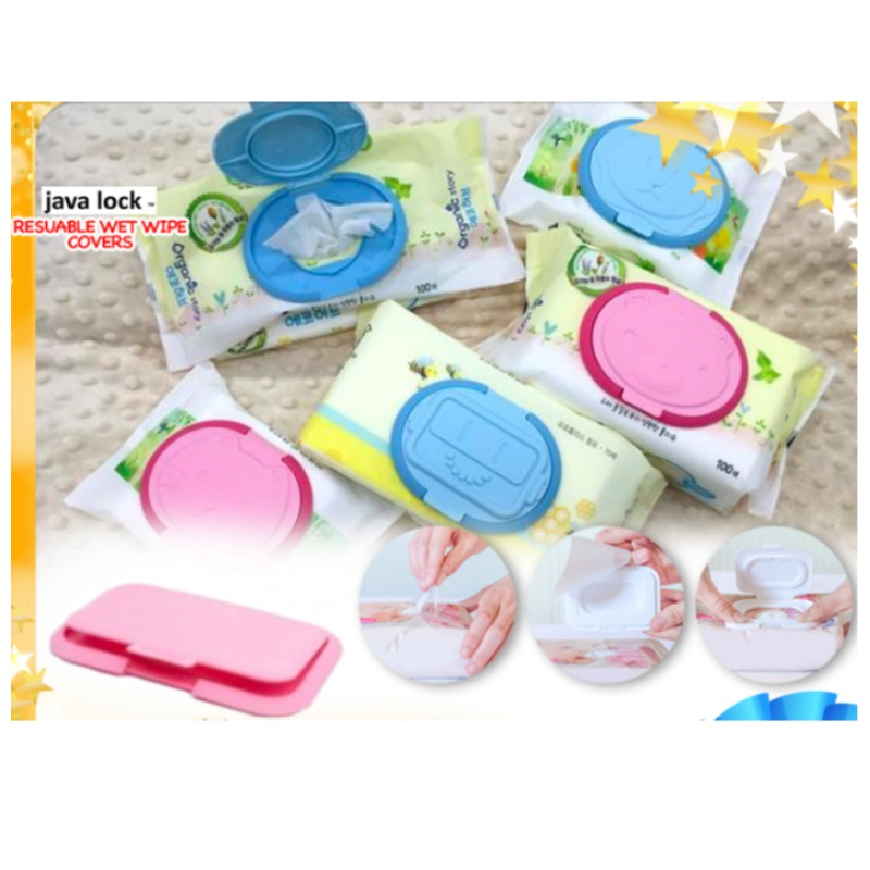 Javalock Resuable Wet Wipe Covers