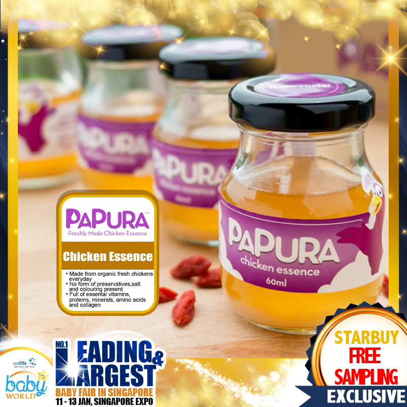 FREE Sampling Papura Chicken Essence
