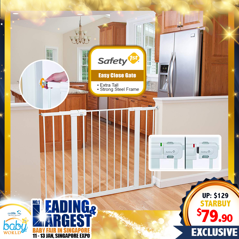 Safety 1st EXTRA TALL Easy Close Gate
