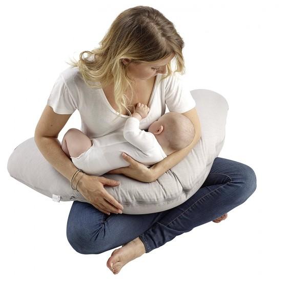 Red Castle Fleur De Cotton Big Flopsy Maternity / Nursing Pillow FREE Flopsy Pillow Cover!!