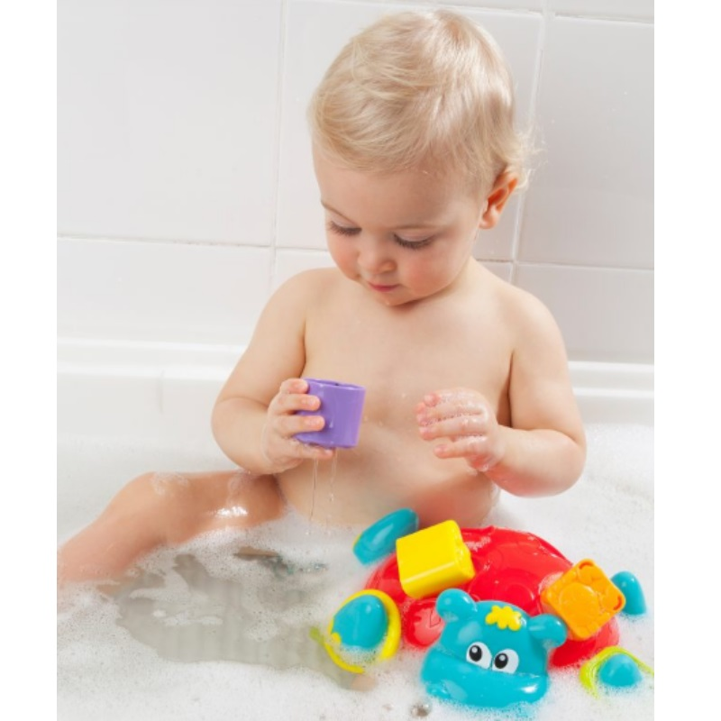 Playgro Sort N' Stack Floating Hippo Bath Toy