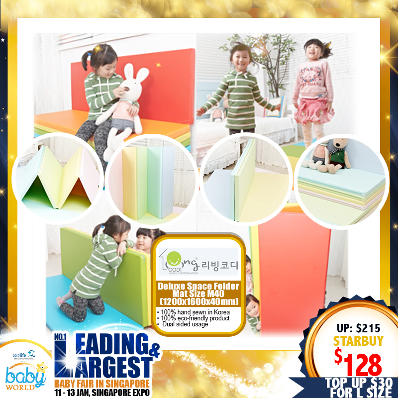 Living Codi Deluxe Space Folder Playmat (M / L)
