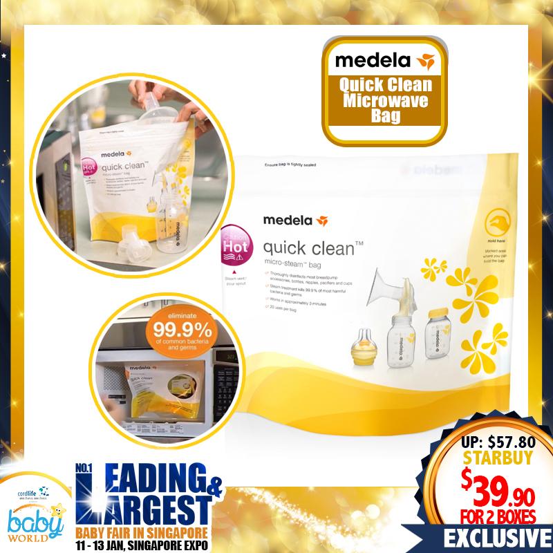 Medela Quick Clean Microwave Bag Bundle (5pcs x 2)