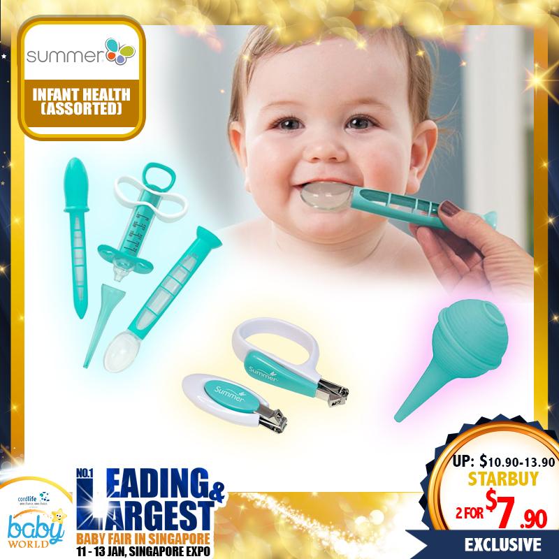Summer Infant Baby Health - Medical Syringe/Nail Clipper/Nasal Aspirator
