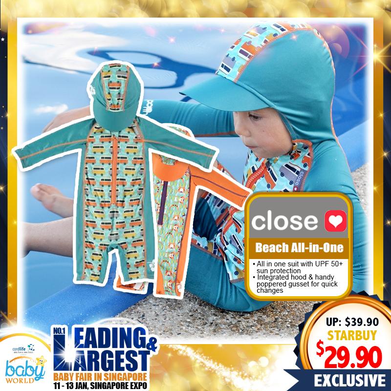 Close Parents Beach All-in-One Swim Suit