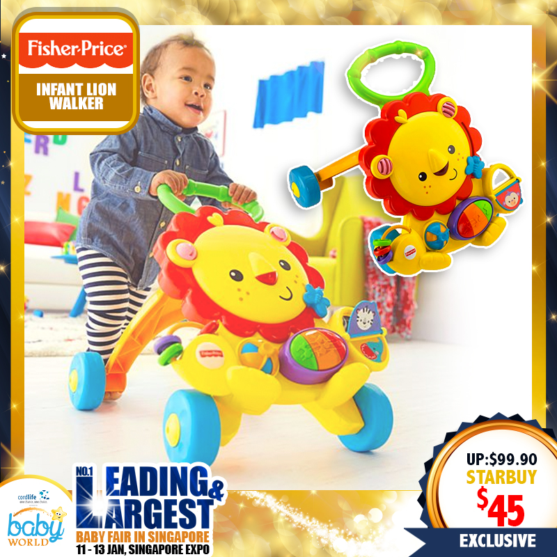 Fisher Price Infant Lion Walker