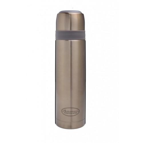 Autumnz - Metallic Stainless Steel Vacuum Flask 500ml/750ml