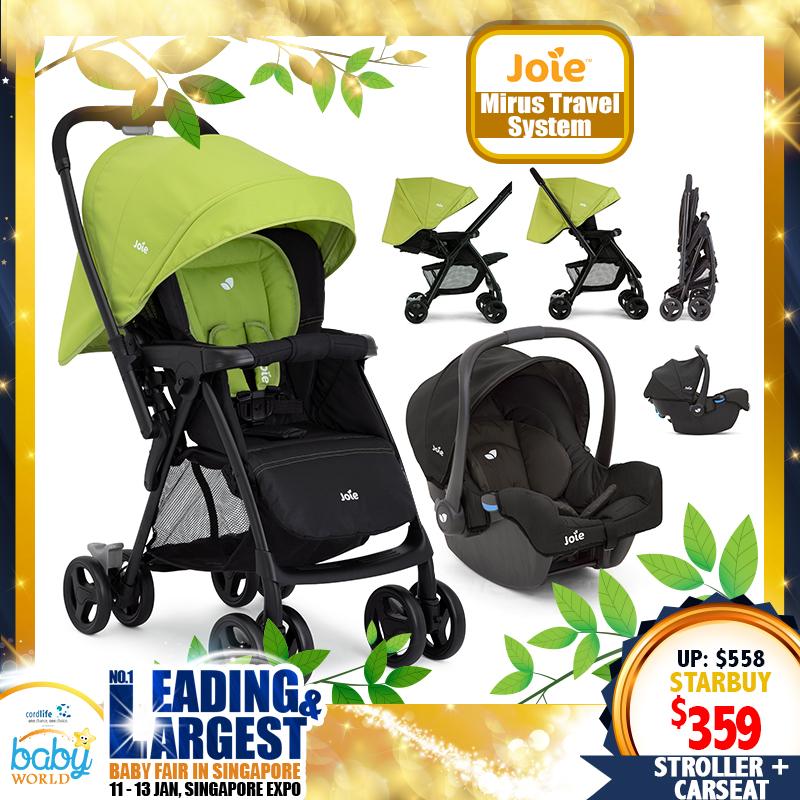 Joie Mirus Travel System (Stroller + iGemm Carseat)