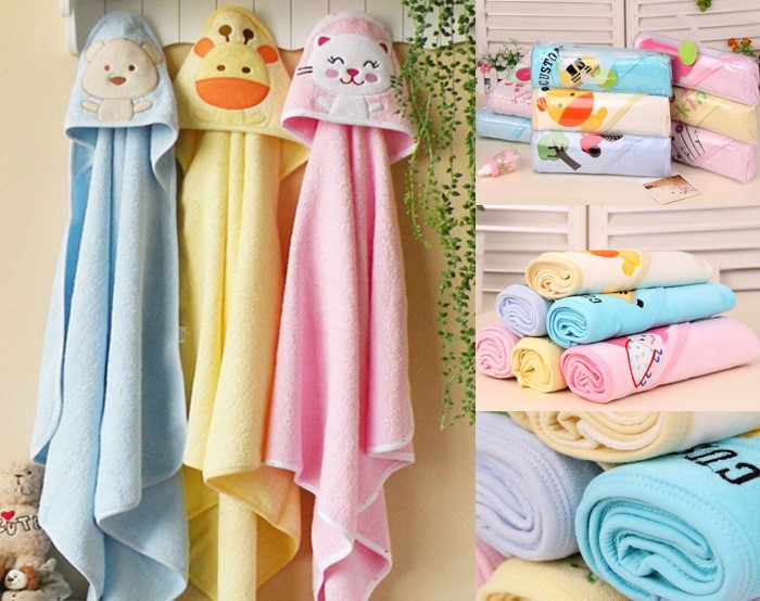 Little Tots 3-pc Hooded Towel (70 PERCENT OF NOW!!)