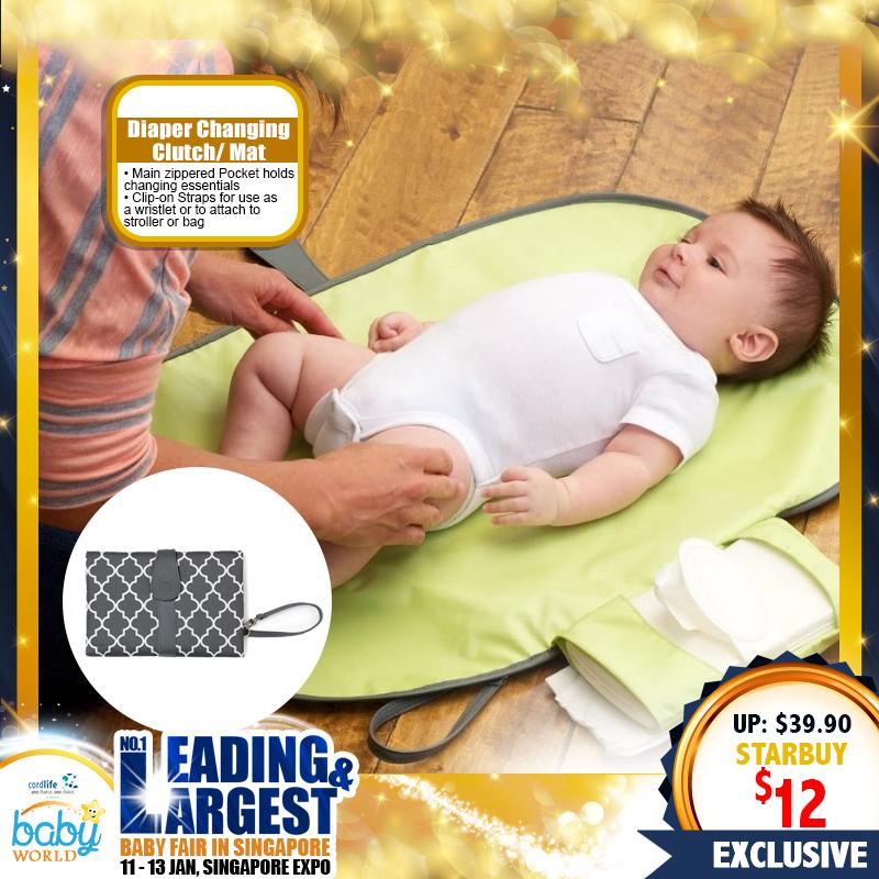Mummykidz Diaper Changing Clutch/Mat (70 PERCENT OFF!!)
