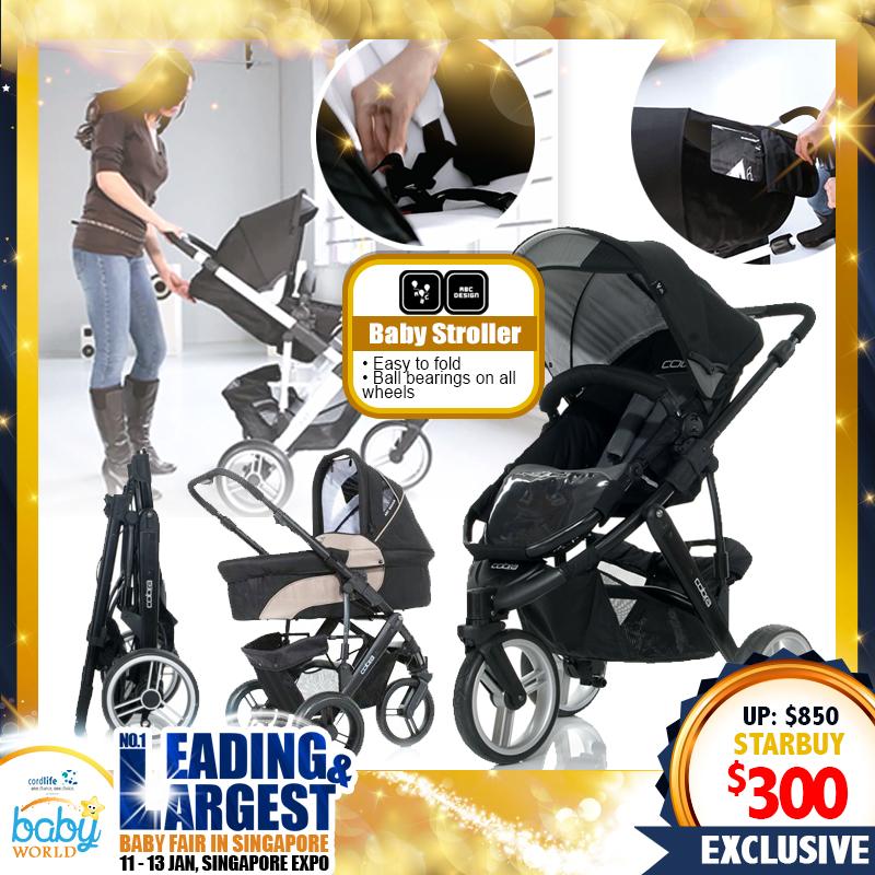 ABC Baby Stroller