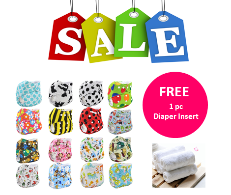 Little Tots One Size Snap Diaper