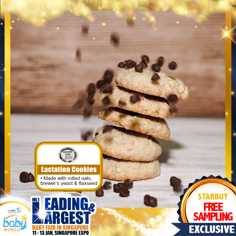 FREE SAMPLING - Milking Cow Lactation Cookies
