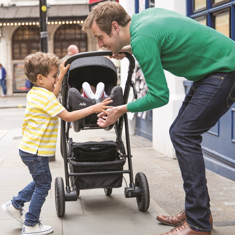 Joie Mytrax S Travel System (Stroller + Carseat + i-Base)