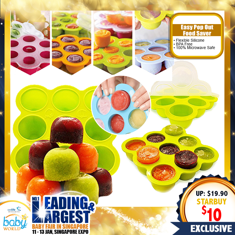 MummyKidz Silicone Easy Pop Out Food Saver